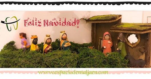 Felices fiestas y próspero año nuevo - Espacio Dental Jaén